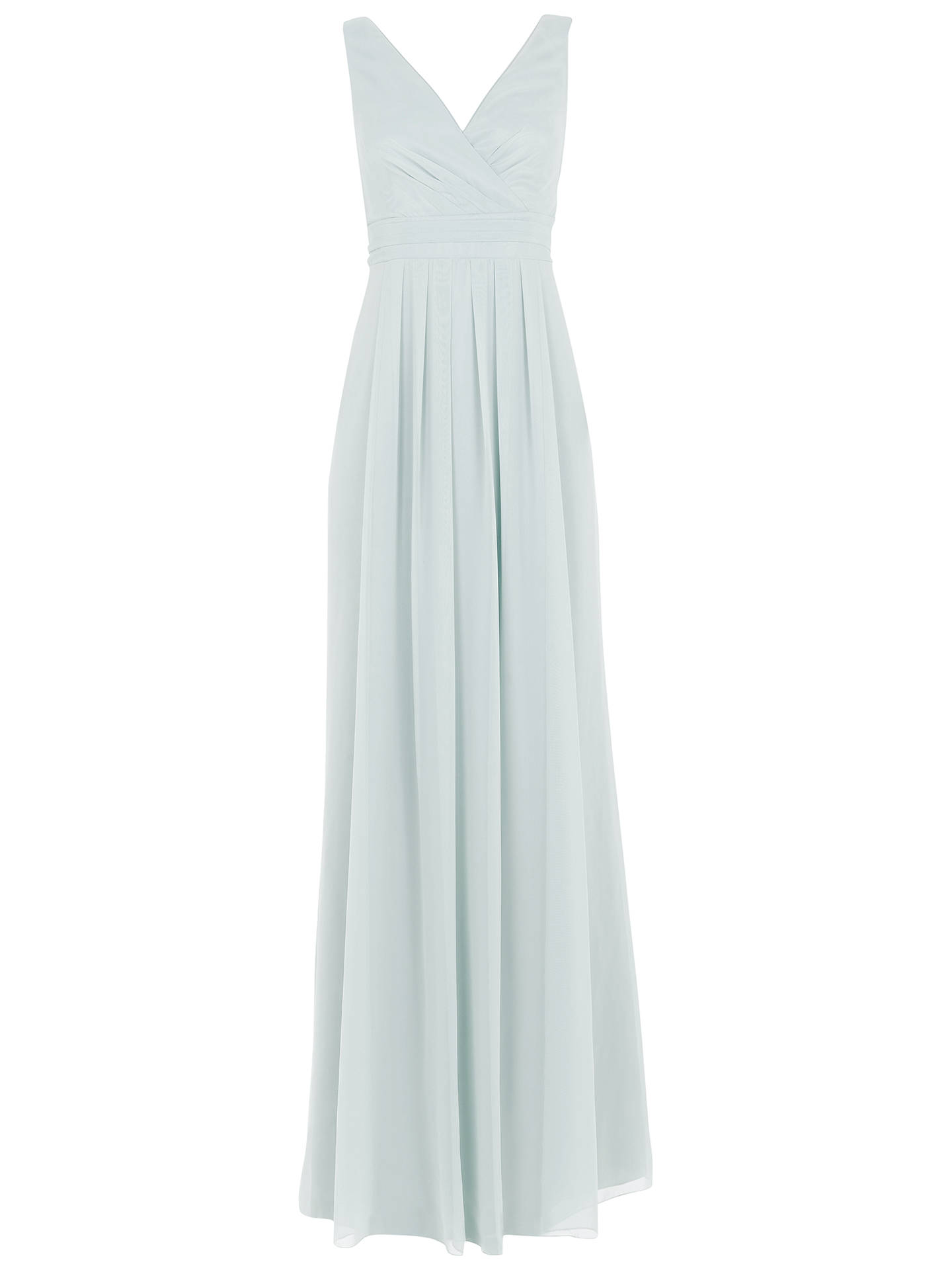 Maids To Measure Lisette Floaty Dress At John Lewis Partners Tuft Micro Misty 360 Buymaids Green 8 Online