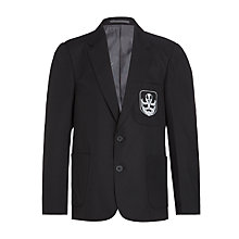 Buy The Broxbourne School Blazer, Black Online at johnlewis.com