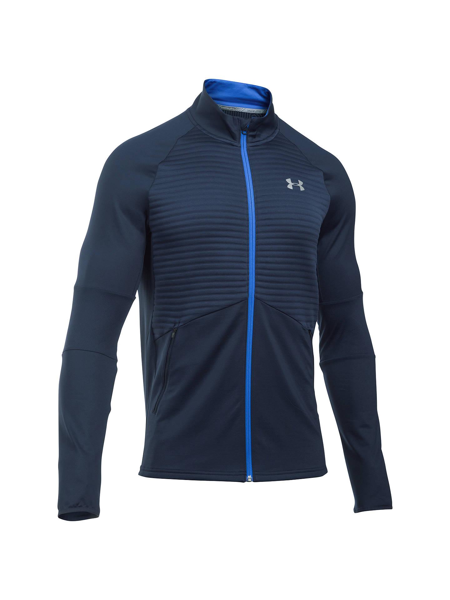 9ae50d3081 Buy Under Armour NoBreaks ColdGear Infrared Men's Running Jacket, Blue, S  Online at johnlewis ...