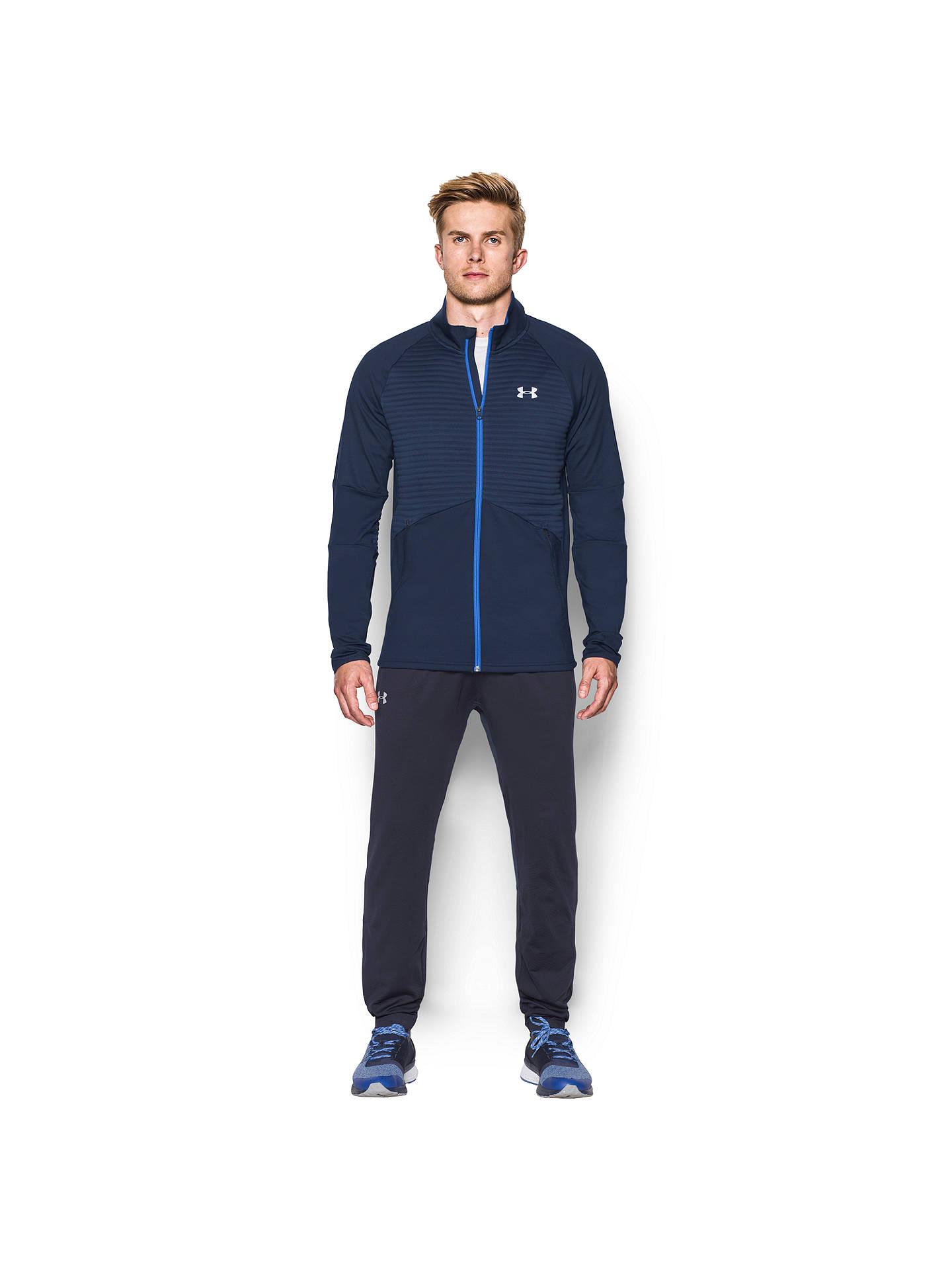 33471b472f ... Buy Under Armour NoBreaks ColdGear Infrared Men's Running Jacket, Blue,  S Online at johnlewis ...