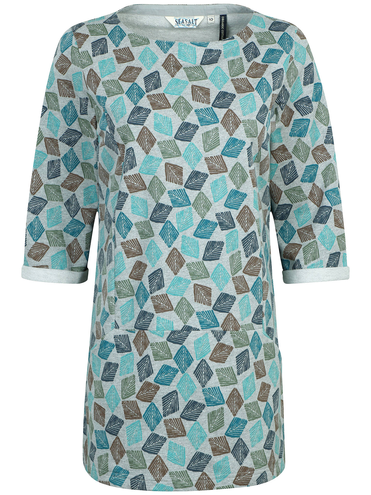 fbb0e70807c Buy Seasalt Trewoon Tunic Top, Diamond Stamp, 8 Online at johnlewis.com ...