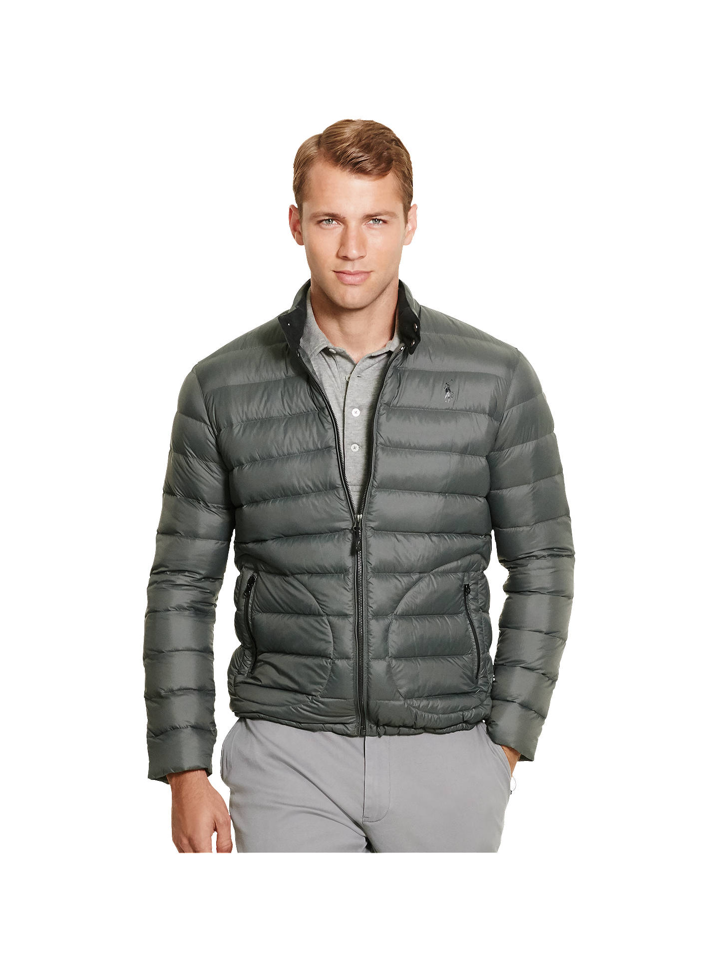2b9dadc0 Polo Golf by Ralph Lauren Packable Quilted Down Jacket at John Lewis ...
