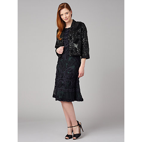 Buy Phase Eight Collection 8 Sassy Sequinned Jacket, Black Online at johnlewis.com