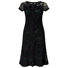 Buy Phase Eight Tilly Tapework Dress, Forest Online at johnlewis.com