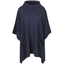 Buy Seasalt Blustery Poncho, Fathom Online at johnlewis.com