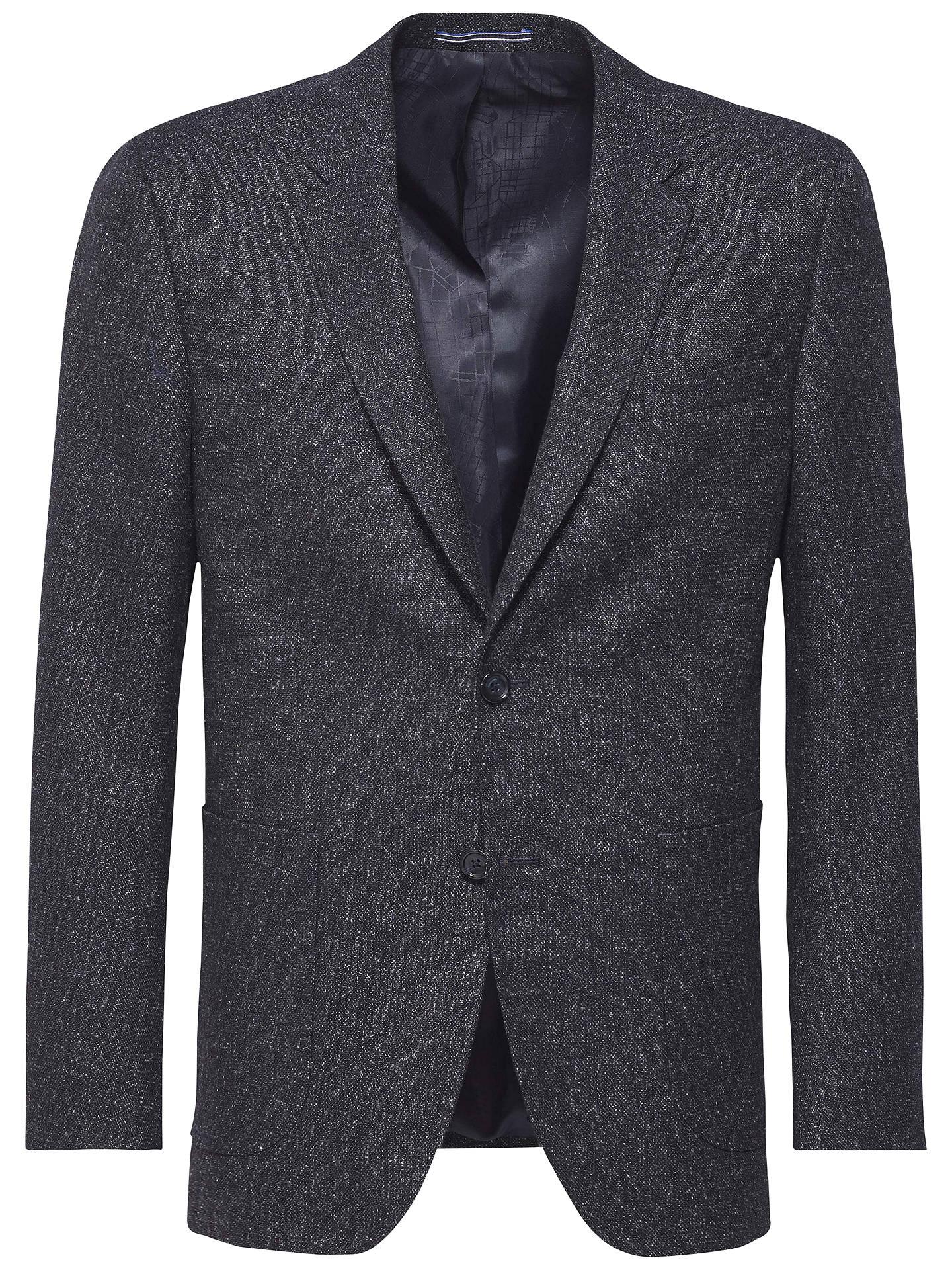 cfa577de Buy Tommy Hilfiger Tailored Wool Blend Blazer, Navy, 38L Online at  johnlewis.com ...