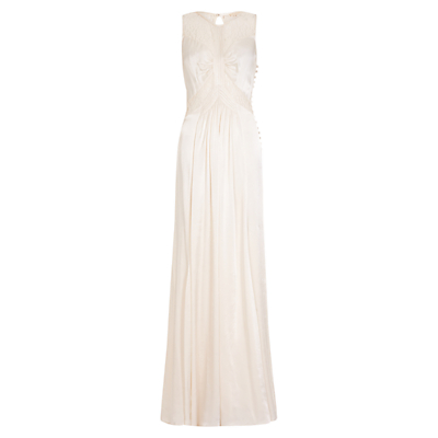Ghost Elvita Dress, Ivory