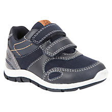 Buy Geox Children's B Shaax Riptape Casual Shoes, Navy/Grey Online at johnlewis.com