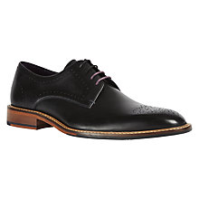 Buy Ted Baker Marar Derby Shoes, Black Online at johnlewis.com
