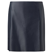 Buy Jigsaw Leather Wrap Mini Skirt Online at johnlewis.com