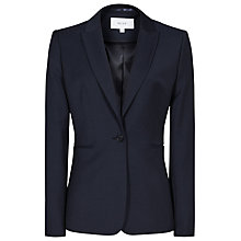 Buy Reiss Indi Textured Tailored Jacket, Navy Online at johnlewis.com