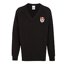 Buy Nottingham High School Pullover, Black Online at johnlewis.com