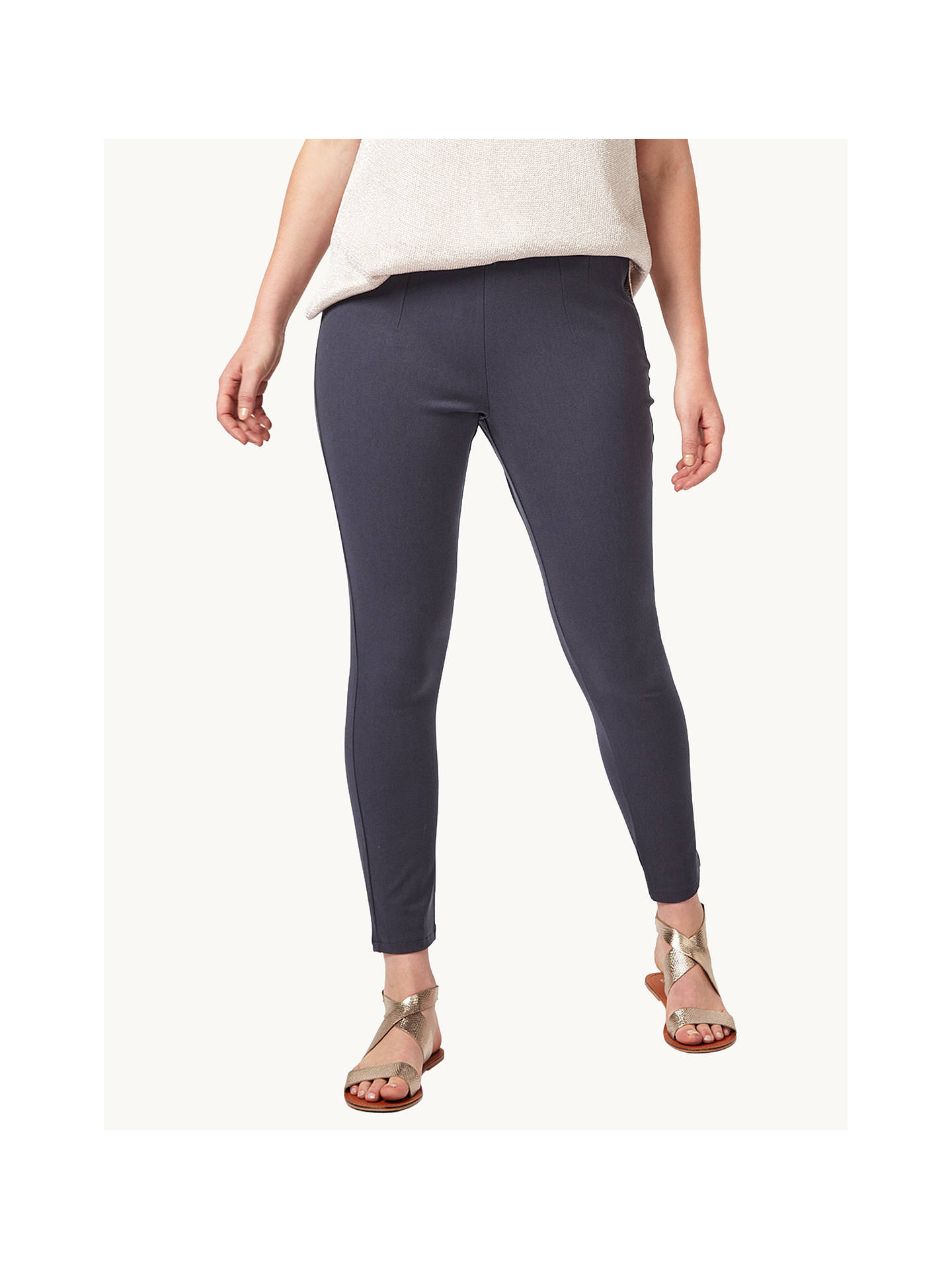 BuyStudio 8 Effie Trousers, Charcoal, 12 Online at johnlewis.com