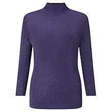 Buy Bruce by Bruce Oldfield Metallic Turtle Neck Jumper Online at johnlewis.com