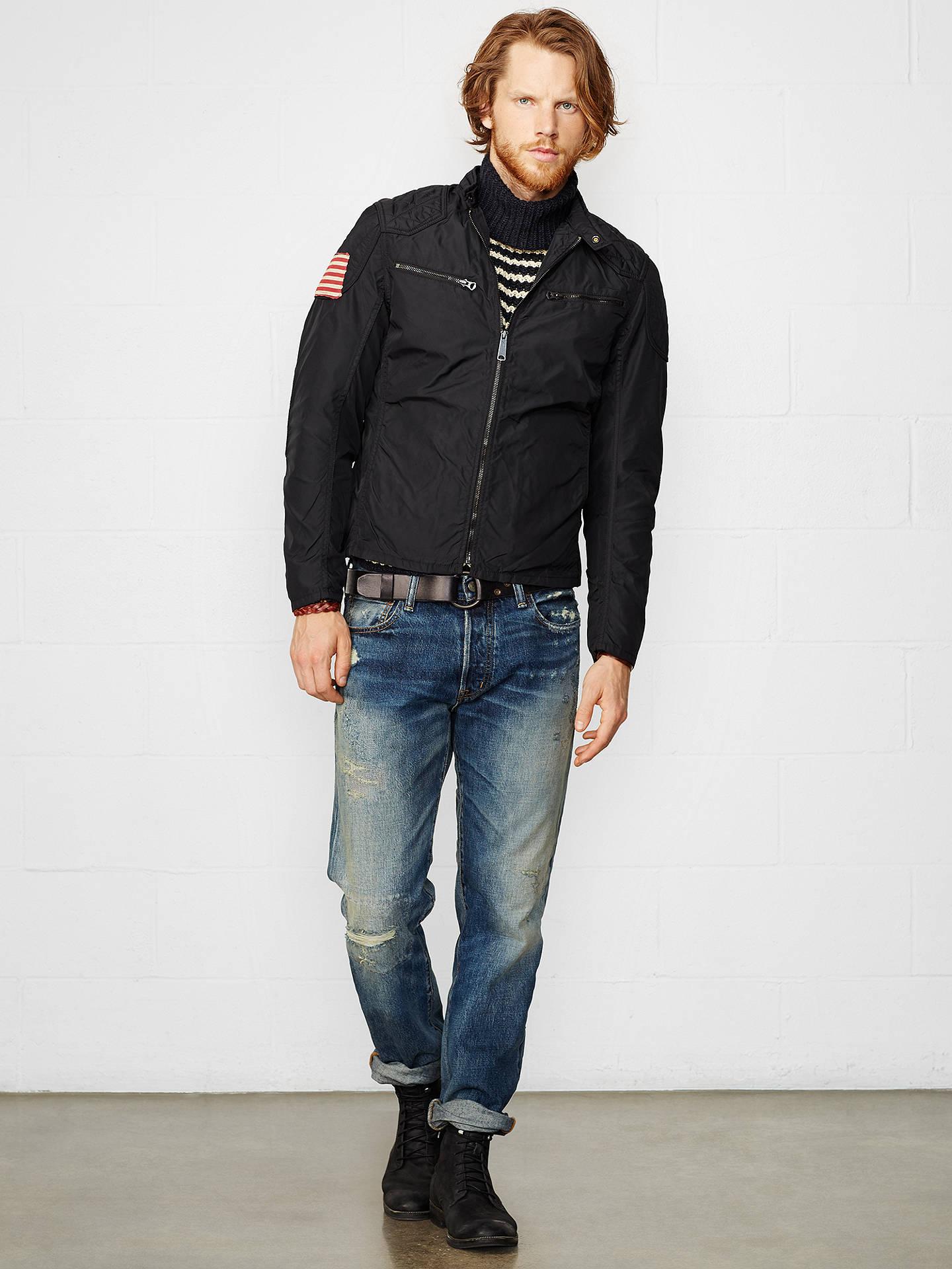 b313efc32 ... Buy Denim   Supply Ralph Lauren Motorcycle Lined Jacket
