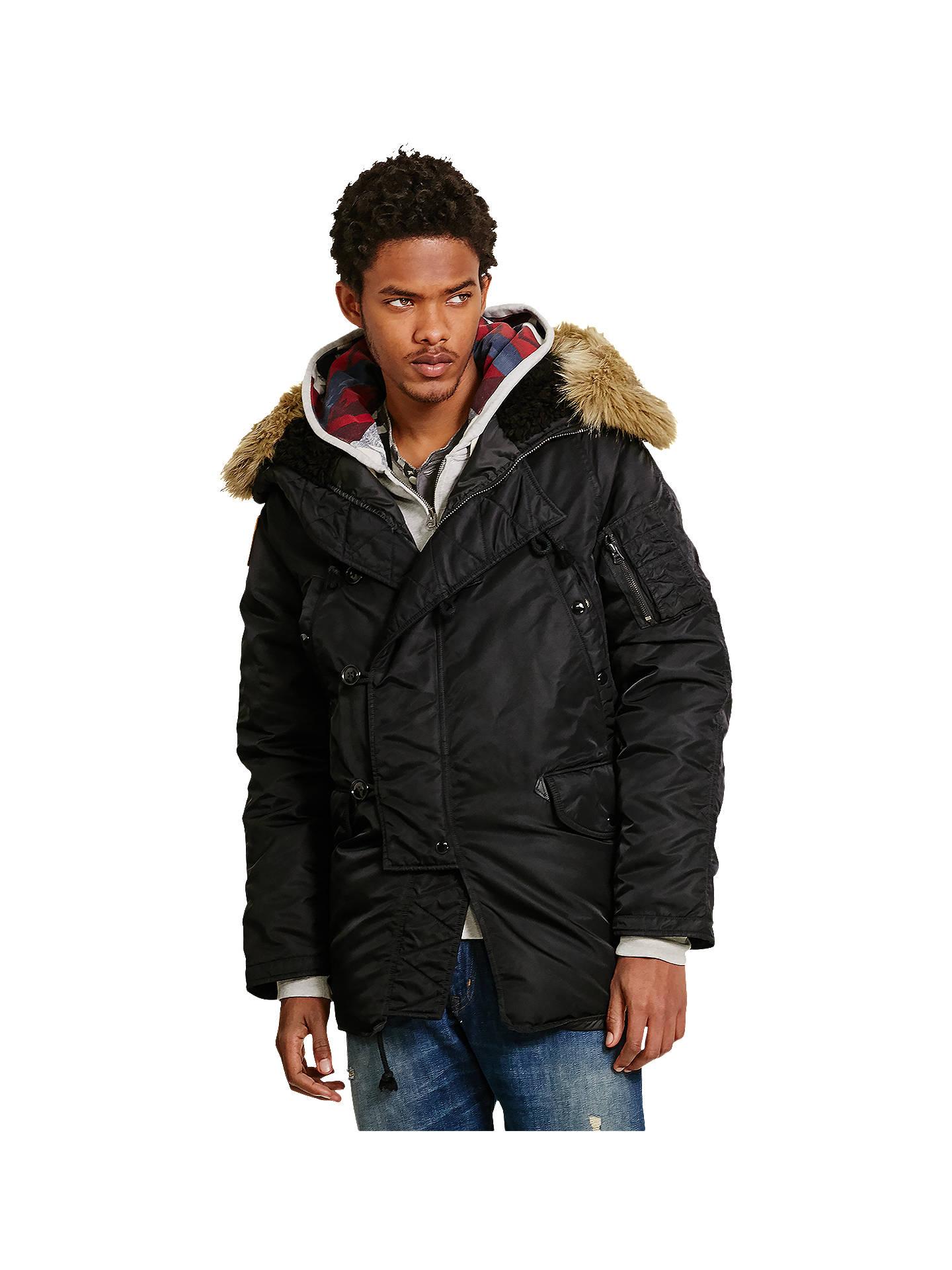 f92afde7a1ca Buy Denim   Supply Ralph Lauren DNF Down Snorkel Jacket