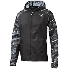 Buy Puma NightCat Running Jacket, Black Online at johnlewis.com