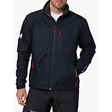 Buy Helly Hansen Crew Midlayer Men's Jacket, Navy Online at johnlewis.com