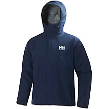 Buy Helly Hansen Seven J Men's Waterproof Jacket, Blue Online at johnlewis.com