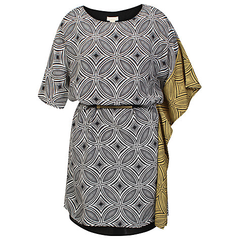 Buy Celuu Gisselle Belted Dress, Multi Online at johnlewis.com