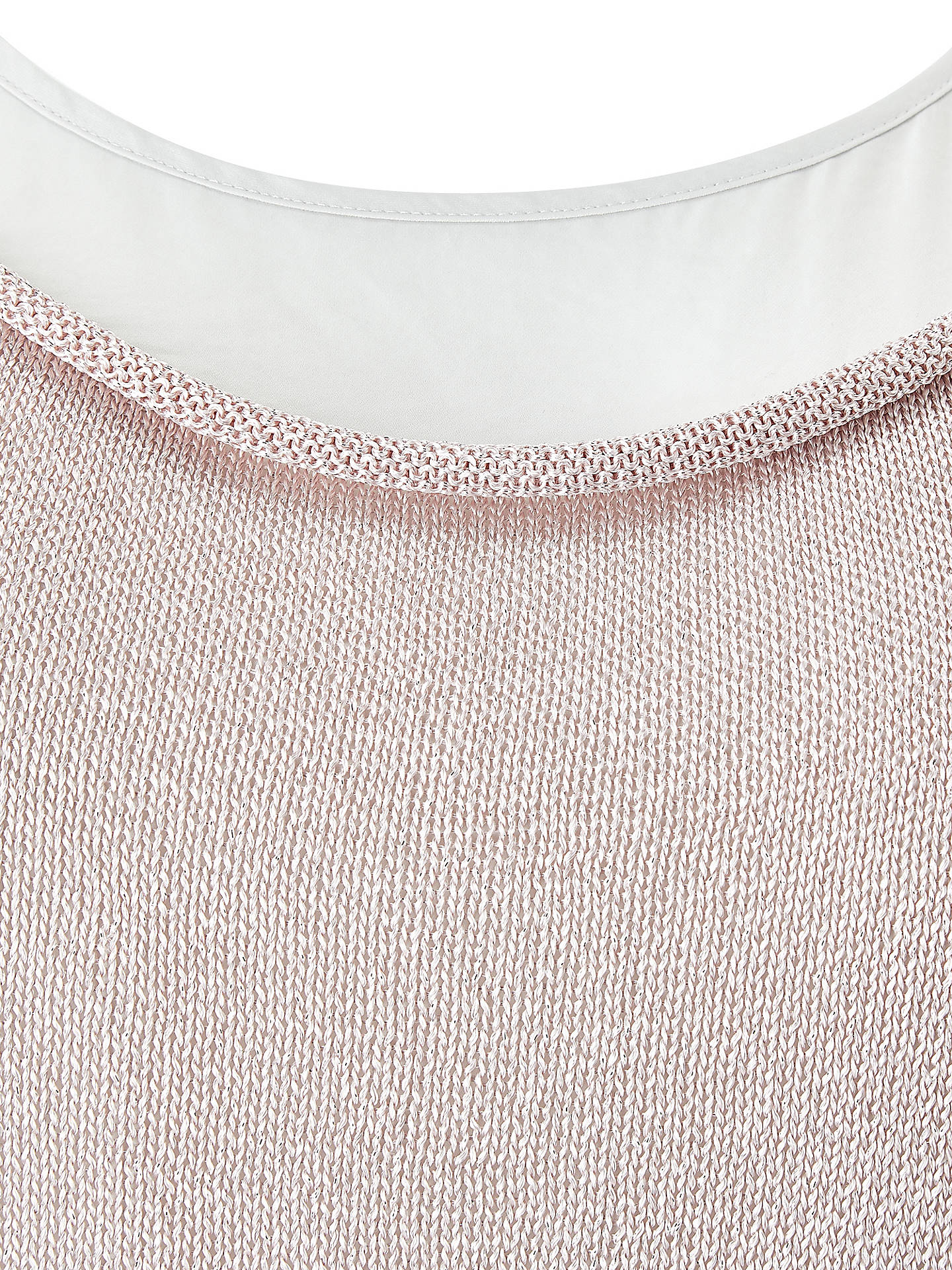 BuyStudio 8 Rhian Knitted Top, Pink, 16 Online at johnlewis.com