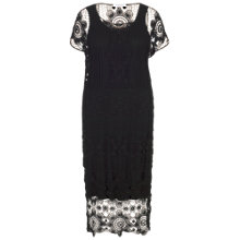 Buy Chesca Crochet Dress, Black Online at johnlewis.com