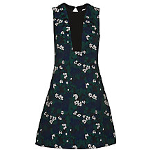 Buy Whistles Pansy Jacquard Dress, Multi Online at johnlewis.com