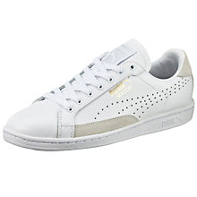 Buy Puma Match 74 Men's Trainers, White Online at johnlewis.com