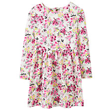 Buy Baby Joule Christina Floral Dress, Cream Online at johnlewis.com