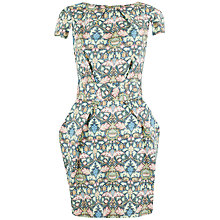Buy Closet Mirror Print Tulip Dress, Multi Online at johnlewis.com