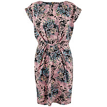 Buy Closet Turn Up Sleeve Dress, Multi Online at johnlewis.com