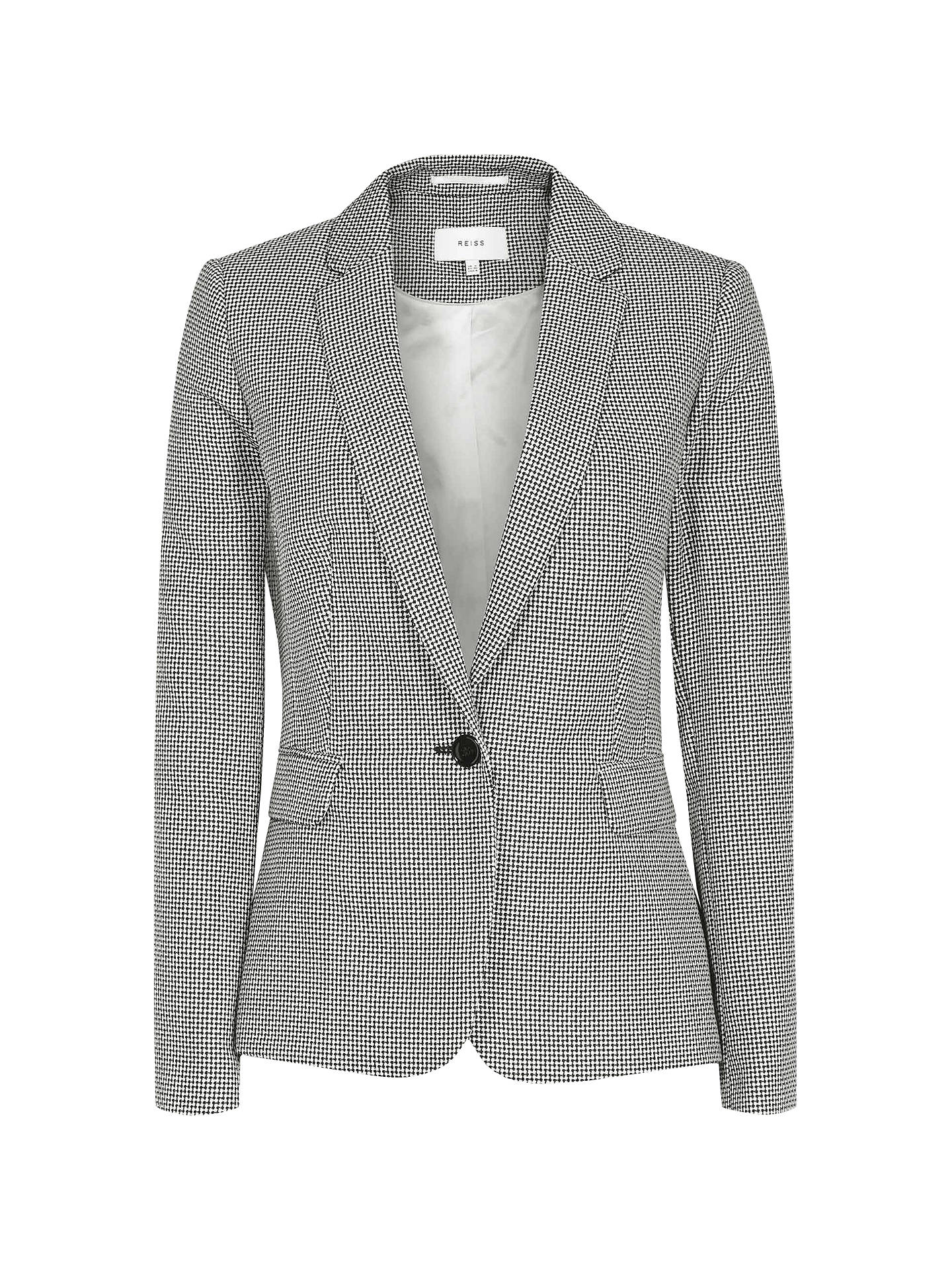 ee37af417 Reiss Maxine Micro Pattern Tailored Jacket