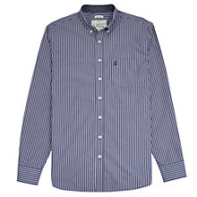 Buy Joules Hensley Stripe Shirt, Navy/White Online at johnlewis.com