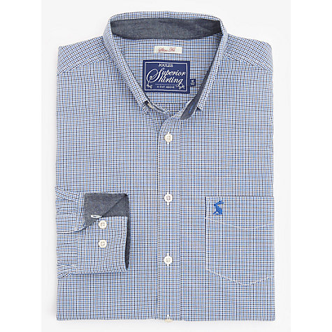 Buy Joules Hensley Gingham Slim Fit Shirt Online at johnlewis.com