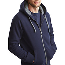 Buy Joules Pettet Hooded Jumper, New Navy Online at johnlewis.com