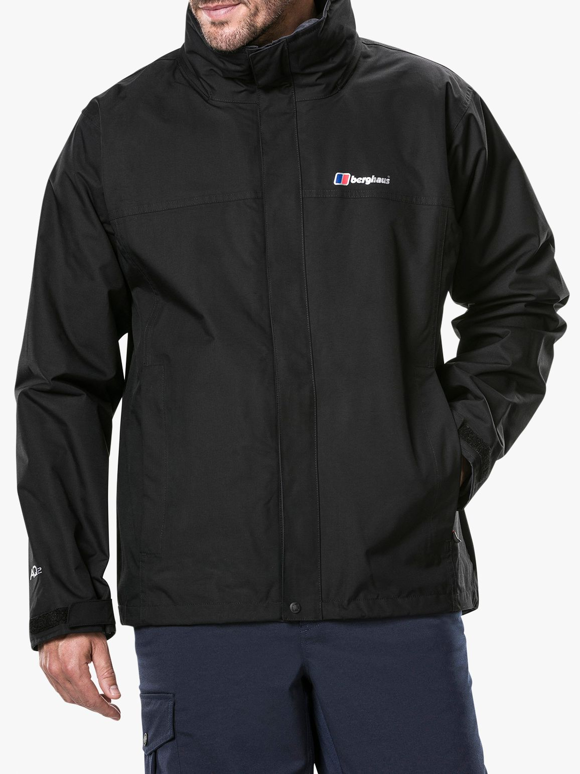 Berghaus Mens RG Alpha 3-in-1 Waterproof Jacket with Fleece