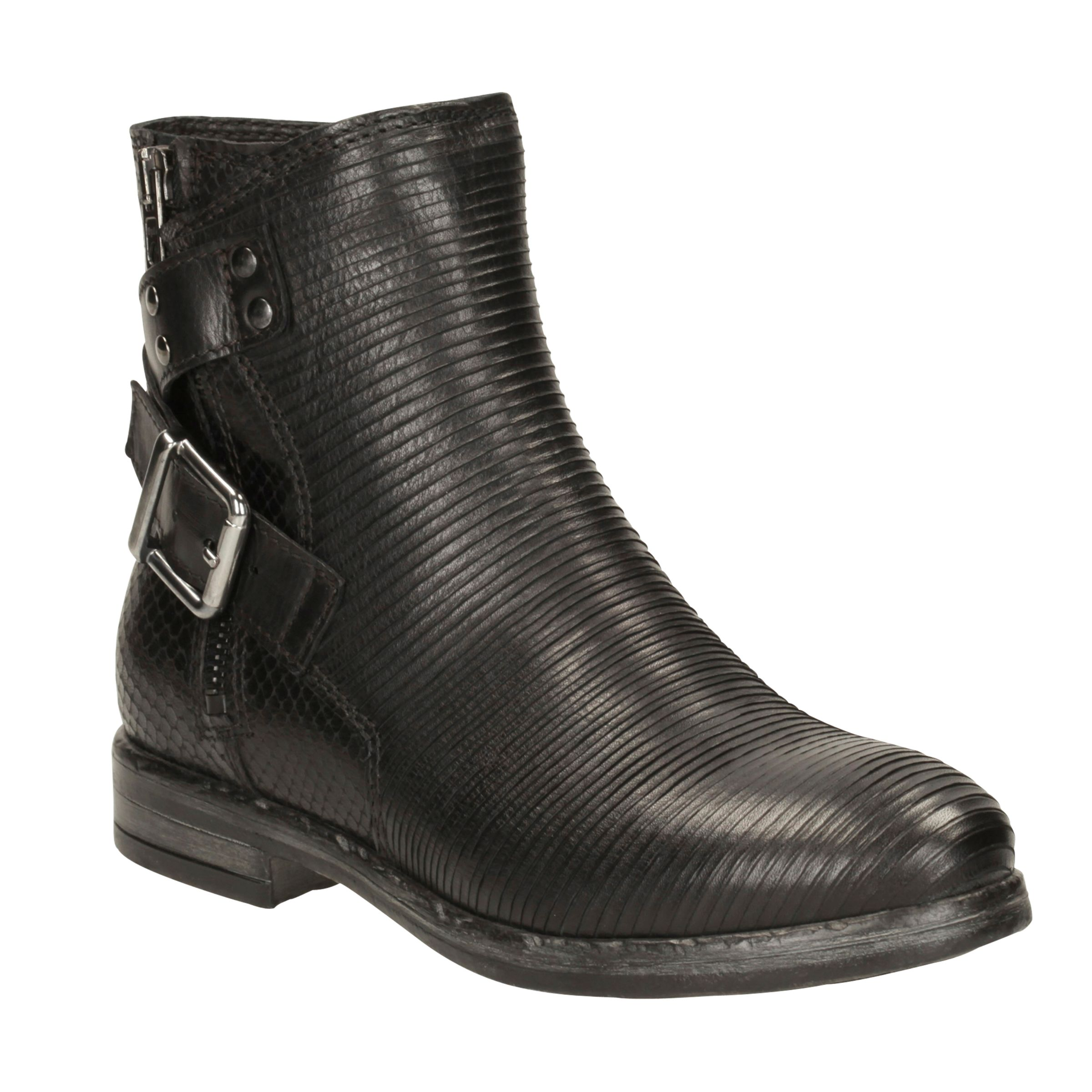 7665f40b0c5 Clarks Sicilly Dove Buckle Ankle Boots at John Lewis & Partners