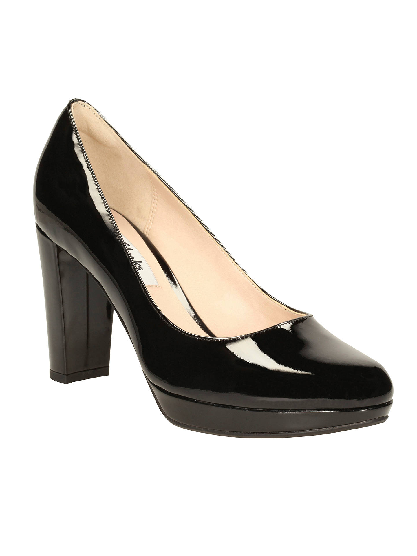 BuyClarks Kendra Sienna High Heel Court Shoes 704cba8a55dd