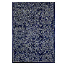 Buy John Lewis Cadiz Rug, Blue Online at johnlewis.com