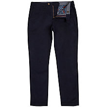 Buy Ted Baker Canny Classic Fit Chinos, Navy Online at johnlewis.com