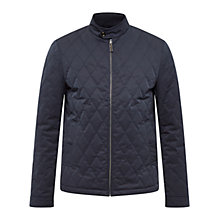 Buy Ted Baker Noah Quilted Jacket, Navy Online at johnlewis.com