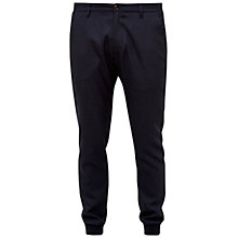 Buy Ted Baker Timmer Cuffed Trousers, Navy Online at johnlewis.com