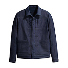 Buy Levi's Made & Crafted Type II Trucker Jacket, Dark Blue Online at johnlewis.com