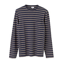 Buy Jigsaw Breton Stripe Long Sleeve T-Shirt Online at johnlewis.com