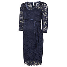 Buy Mamalicious Mivana Maternity Jersey Dress, Navy Online at johnlewis.com