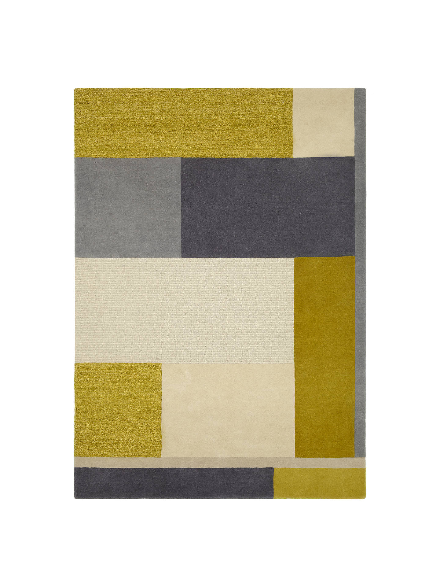 BuyJohn Lewis & Partners Riga Rug, Citrine, L180 x W120cm Online at johnlewis.com