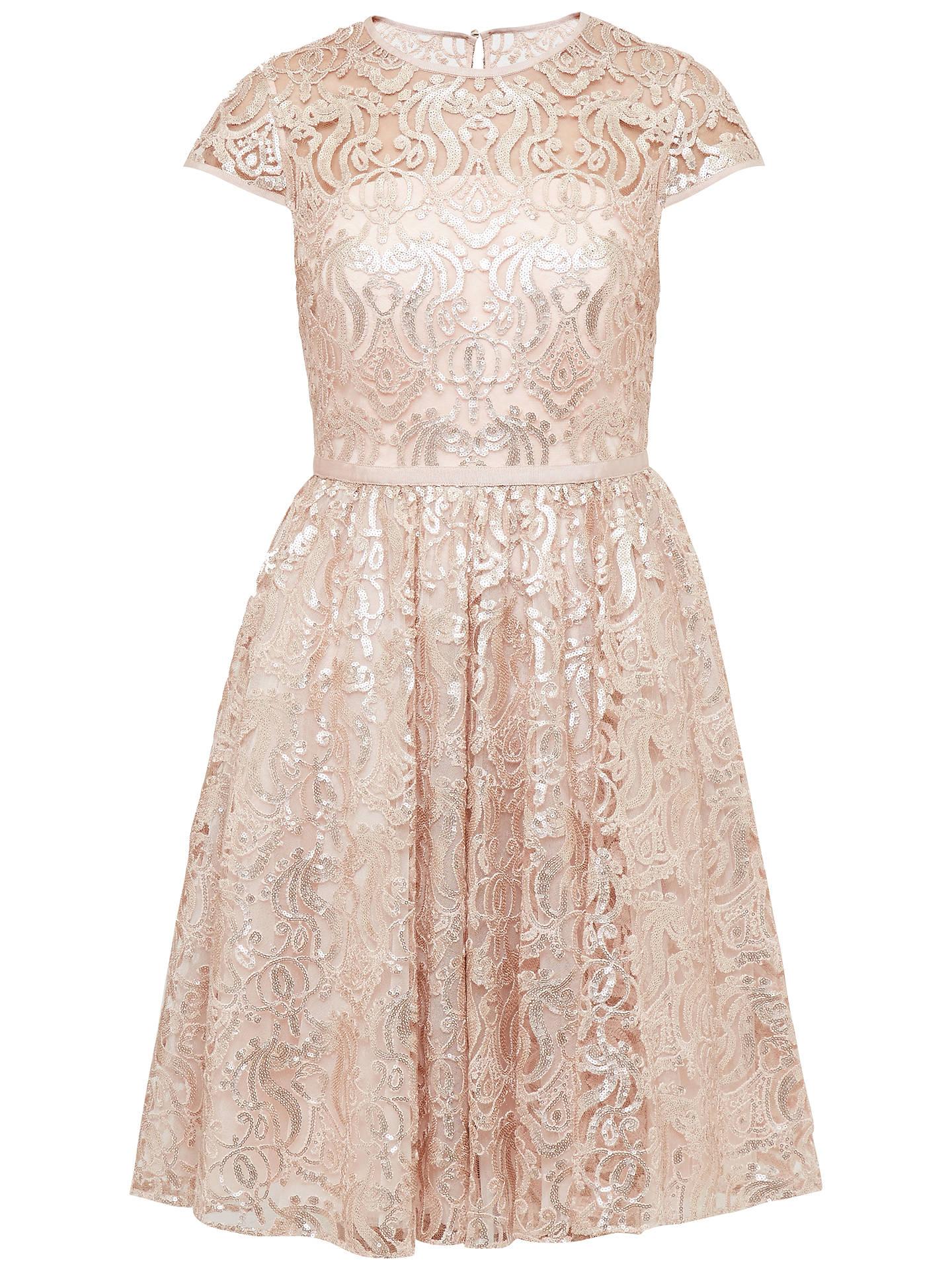 cb45a0c2ea1a Buy Ted Baker Ranita Sheer Bodice Sequin Dress