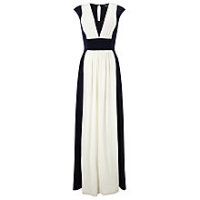Buy Phase Eight Palma Maxi Dress, Navy/Ivory Online at johnlewis.com