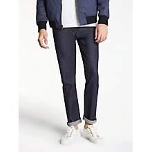 Buy Levi's Made & Crafted Tack Slim Fit Jeans, Indigo Rigid Online at johnlewis.com