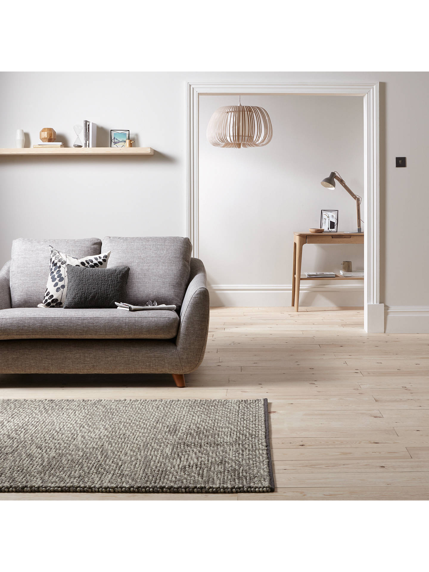 BuyJohn Lewis & Partners Dolly Mixture Rug, Natural, L180 x W120cm Online at johnlewis.com